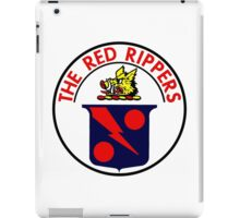 VFA-11 Red Rippers Patch iPad Case/Skin