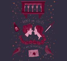 Shakesperean pattern - Romeo and Juliet Unisex T-Shirt