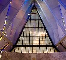 Air Force Academy Cadet Chapel (Interior 1) by WestbrookArts