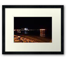 WALLAR00 BAY NYE  Framed Print