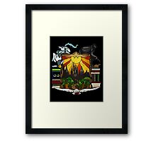 Harry Potter Stained Glass  Framed Print