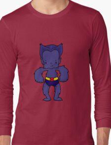 BEAST BLUE Long Sleeve T-Shirt