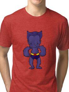 BEAST BLUE Tri-blend T-Shirt