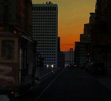 California Street Early Morn by David Denny