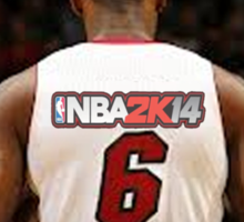 NBA 2k14 Lebron Mode Sticker