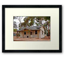 Australian Heritage Town Undertaker Framed Print