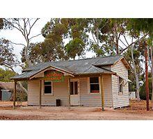 Australian Heritage Town Undertaker Photographic Print