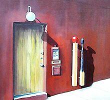 Whiteleys studio by Bob Hickman