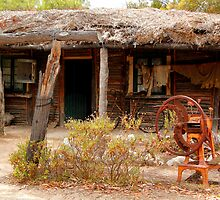 Australian Heritage Town Trappers Hut by jwwallace