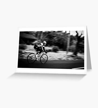Cycle. Greeting Card