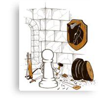 A Pawn's World Canvas Print
