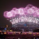 NYE FIREWORKS SYDNEY AUSTRALIA by Andrew  MCKENZIE