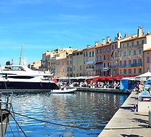 Port of Saint-Tropez, provence,  France by 7horses