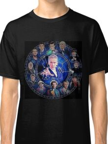 Doctor who (all 13 doctors) Classic T-Shirt