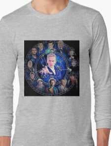 Doctor who (all 13 doctors) Long Sleeve T-Shirt