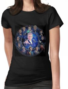 Doctor who (all 13 doctors) Womens Fitted T-Shirt