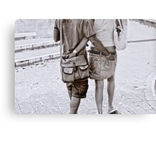 Arm In Arm Metal Print