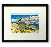 Avoca Beach Rockpools Framed Print