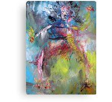 THE MODERN DANCER Canvas Print