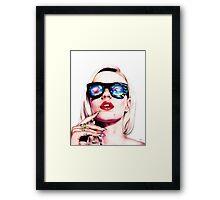 Iggy Azalea Portrait Framed Print