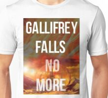 Doctor who Gallifrey falls no more Unisex T-Shirt