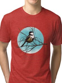 Black-capped Widow Tri-blend T-Shirt