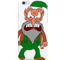 Angry Elf iPhone Case/Skin