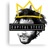 king steelo capital steez Canvas Print