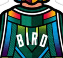 Larry Bird - Stained Glass Sticker