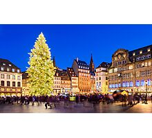 Christmas in Strasbourg Photographic Print