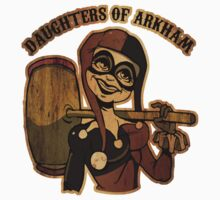 Daughters of Arkham by masciajames