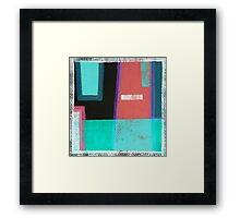 BorderLines Framed Print