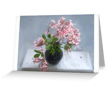 Wild Azelea Blooms Greeting Card