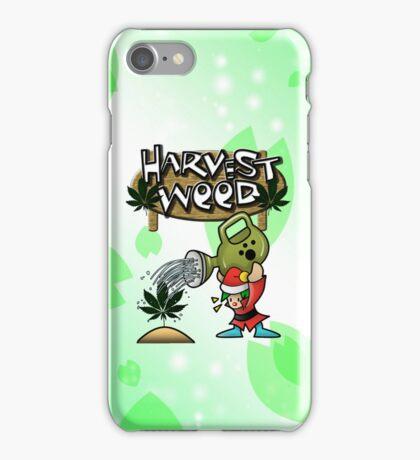 Harvest Moon/Weed iPhone Case/Skin