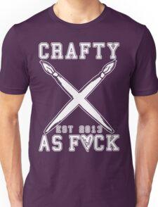 Crafty As Fuck Long Sleeve Unisex T-Shirt