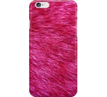 Fluffy Fur, Fur Texture, Pelage - Pink iPhone Case/Skin