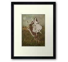 The Call of the Moon Framed Print