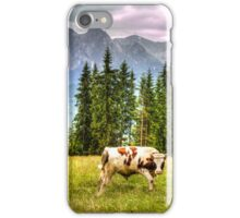 Cows In A Field iPhone Case/Skin