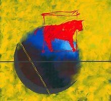 TAURUS OREGON WINTER BALL by dkatiepowellart