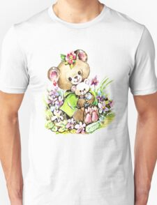 Cute Bear Illustration T-Shirt