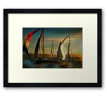 Where Spinnakers Come To Life Framed Print