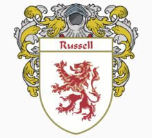 Russell Coat of Arms / Russell Family Crest Kids Clothes