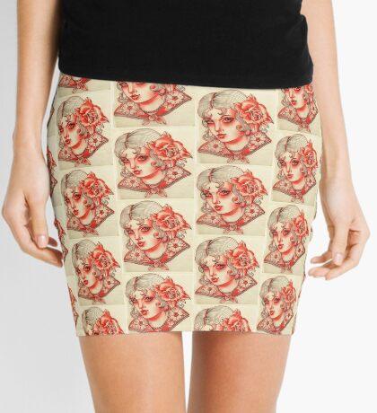 La Tres Flores Collection Mini Skirt