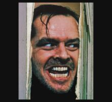 The Shining : Here's Johnny by famedazed