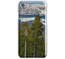 Bucegi mountains in Romania iPhone Case/Skin