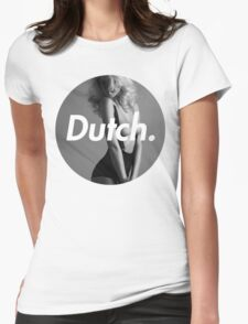 Dutch Blonde Womens Fitted T-Shirt