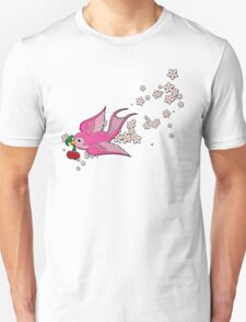 Pink Swallow T-Shirt