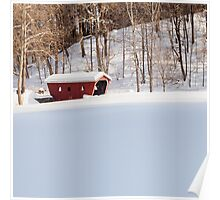 Kent Falls Covered Bridge  Poster
