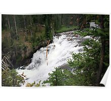 Terraced Falls - 1st Tier #3 Poster