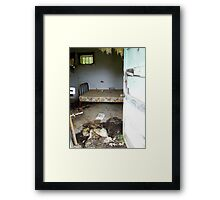 Deluxe Accomadations Framed Print